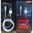 Cáp sạc Aspor rapid cable A106 lighting