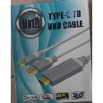 Cáp hdmi S8 cable Type C tới hdtv uhd