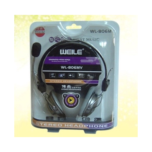 Tai Nghe Headphone WEILE WL-806MV