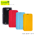 Samsung N7100(GALAXY Note2) Fresh Series Leather Ca